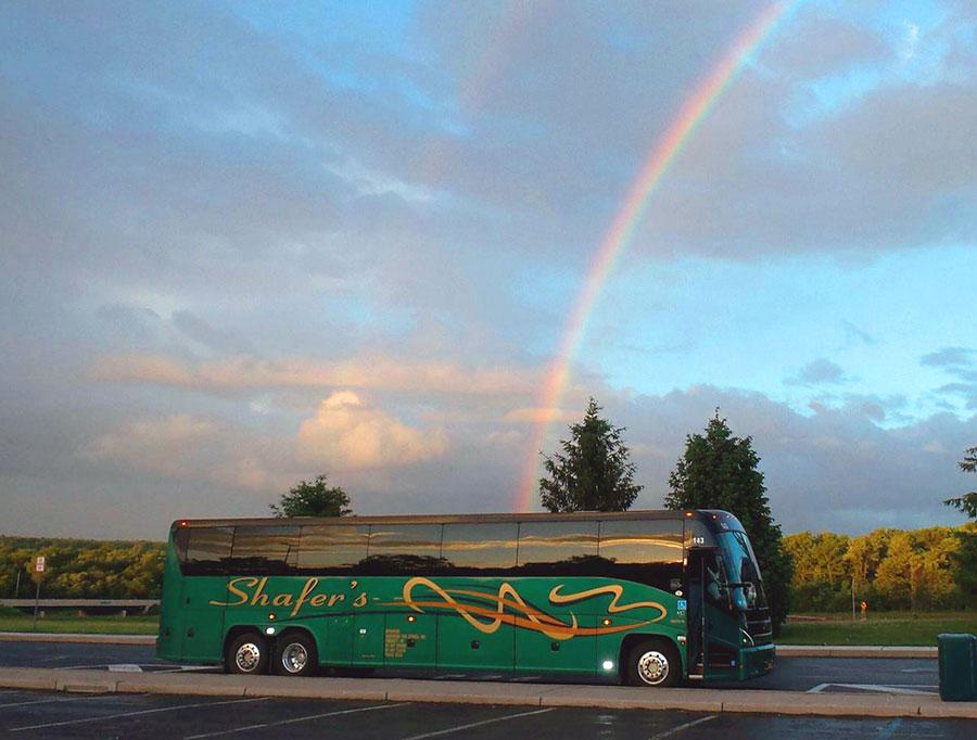 Clean and Green - Charter Bus - Environmentally Friendly Transportation