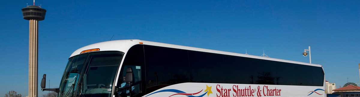 Charter bus San Antonio Texas