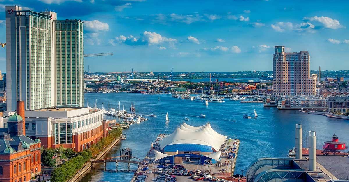 Charter bus rentals Baltimore Maryland