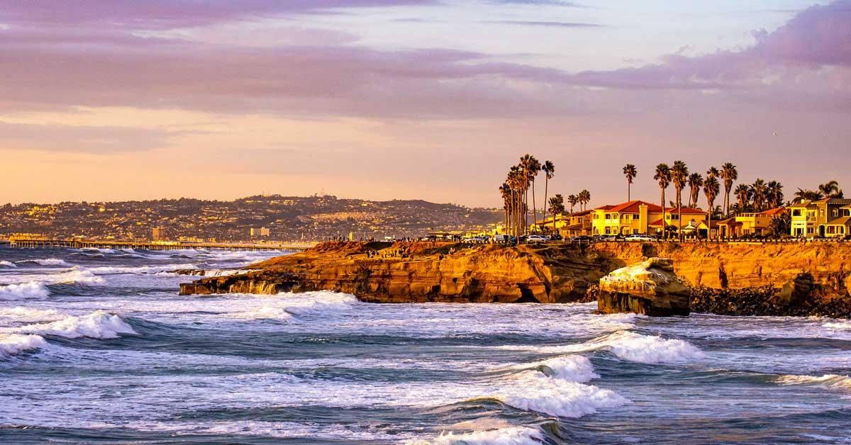 Charter bus rentals San Diego California