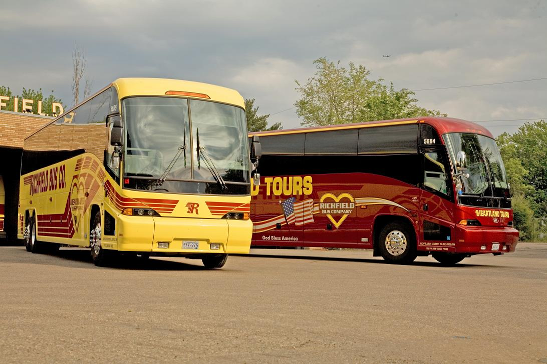 Bus Companies - Richfield Bus Company - Charter Bus and Bus