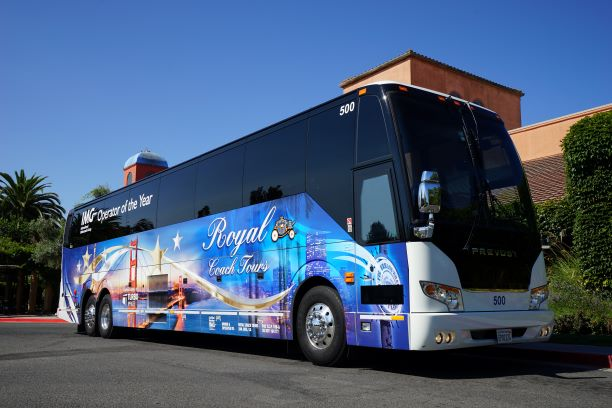 Bus Companies - Royal Coach Tours - Charter Bus and Bus Rental - San