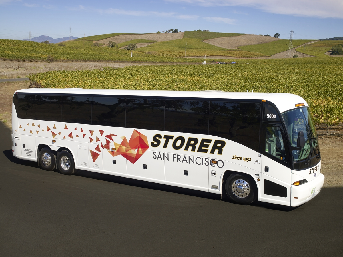 Bus Companies - Storer San Francisco - Charter Bus and Bus